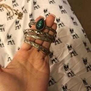 Jewelry - Sterling silver bangle set